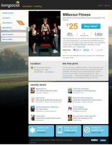 MMAXOUT Fitness in Living Social