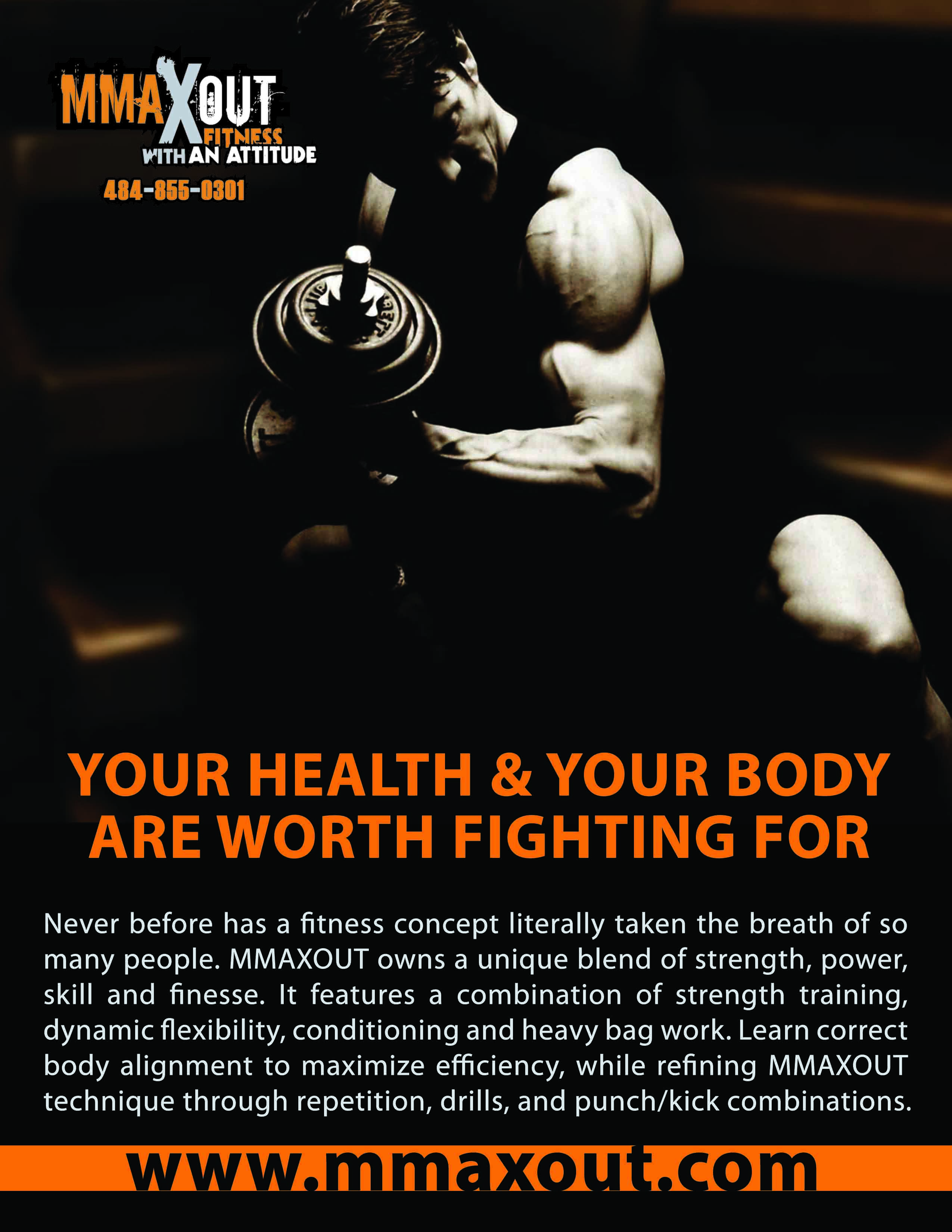 workout flyer