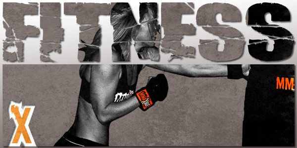 Fitness Motivation Banner ad