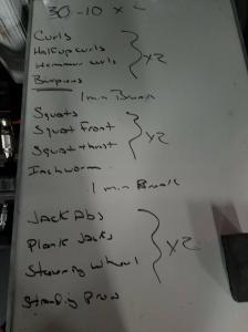 Board Workout 3