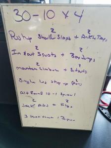 Board Workout 4